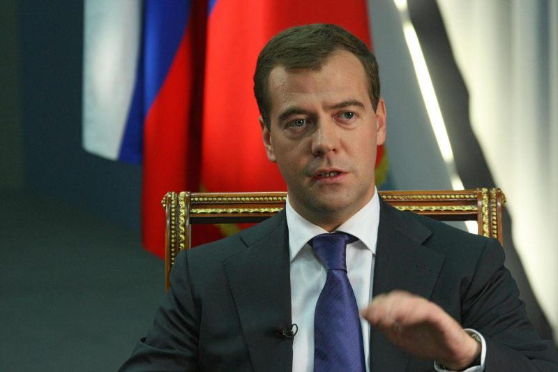 Chiril Gaburici, felicitat de Dmitri Medvedev prin intermediul ambasadorului Rusiei la Chișinău