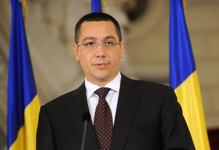 ROMANIA-GOVERNMENT-PRIME MINISTER DESIGNATED-VICTOR PONTA